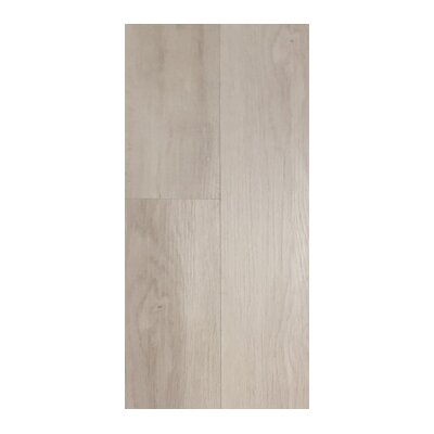 Akelah Kakanda 7 x 48 x 8.5mm WPC Luxury Vinyl Plank in Gray