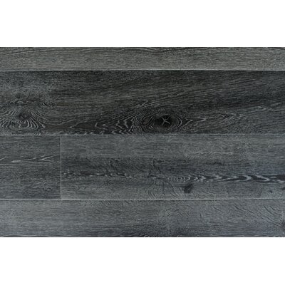 Augustus 7.71 x 72.83 x 12mm Laminate in Smoky Gray