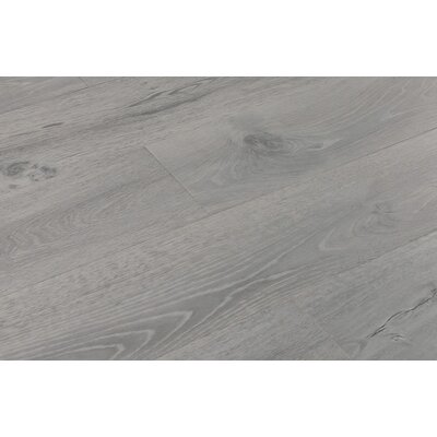 Aditya 8 x 72 x 11.93mm Oak Laminate Flooring in Easy White