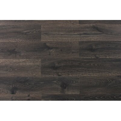 Aditya 8 x 72 x 11.93mm Oak Laminate Flooring in Frenzy Charcoal