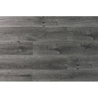 Aditya 8 x 72 x 11.93mm Oak Laminate Flooring in True Gray