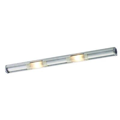 Abeo 16.5 Xenon Under Cabinet Bar Light Finish: Satin Aluminum