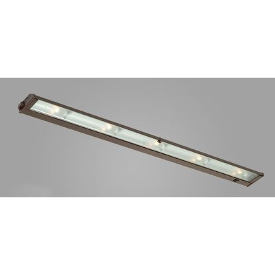 New Mach 40 Xenon Under Cabinet Bar Light Finish: Satin Aluminum