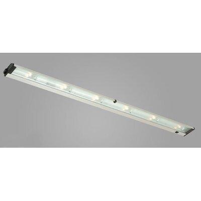 New Mach 48 Xenon Under Cabinet Bar Light Finish: Satin Aluminum