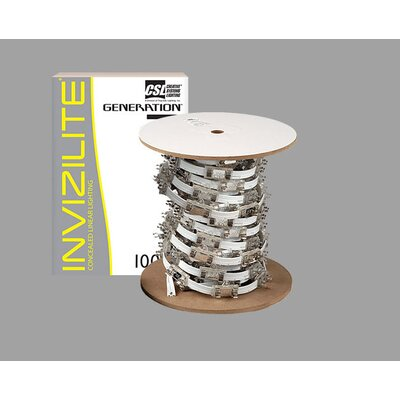 Invizilite 100 Feet Spool Spacing: 4, Finish: Black
