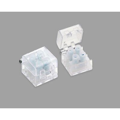 Invizilite Terminal Block with Cover Pack: 1 Pack