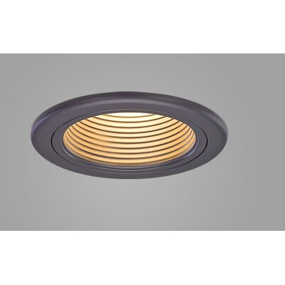 Jewel Fixed Wallwash Downlight Recessed Trim