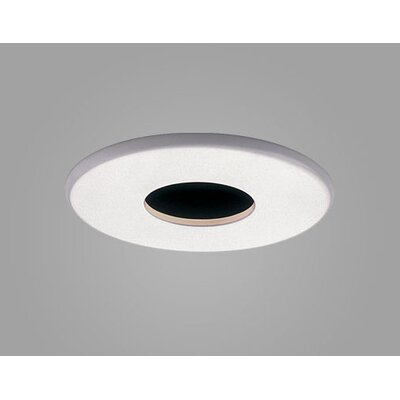 Jewel Fixed Wallwash Round Downlight Recessed Trim