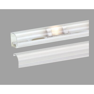 Invizilite Prismatic Lens for Wall Wash Extrusion in Clear (Pack of Four)