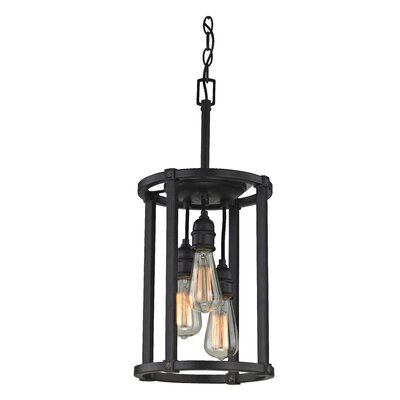 Jeromy 3-Light Foyer Pendant