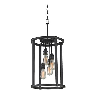 Jeromy 4-Light Foyer Pendant