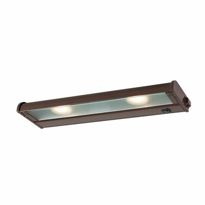 Counter Attack LED 16 Under Cabinet Bar Light Finish: Bronze