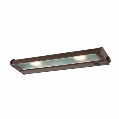 Counter Attack LED 16 Under Cabinet Bar Light Finish: Bronze