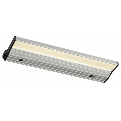 Eco-Counter Edgelit LED 16 Under Cabinet Bar Light Finish: Satin Aluminum, Bulb Color Temperature: 2700K