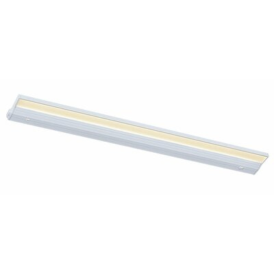 Eco-Counter Edgelit LED 32 Under Cabinet Bar Light Finish: White, Bulb Color Temperature: 2700K