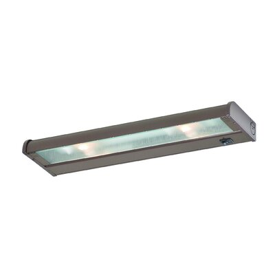 New Counter Attack 16 Xenon Under Cabinet Bar Light Finish: Stainless Steel