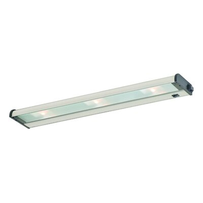 New Counter Attack 24 Xenon Under Cabinet Bar Light Finish: Stainless Steel