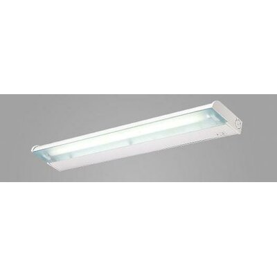 Counter Attack 24 Fluorescent Under Cabinet Bar Light Finish: Silver Metallic