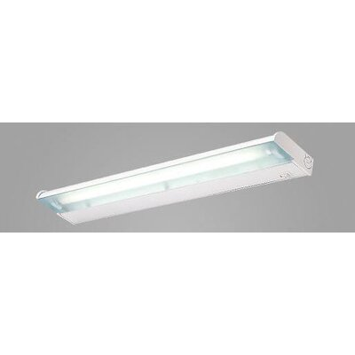 Counter Attack 24 Fluorescent Under Cabinet Bar Light Finish: White