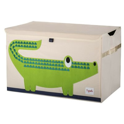 3 Sprouts Crocodile Toy Chest UTCCRO