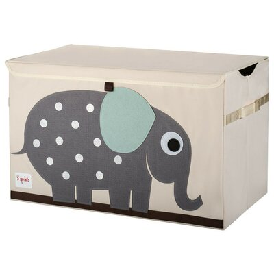 3 Sprouts Elephant Toy Chest UTCELE