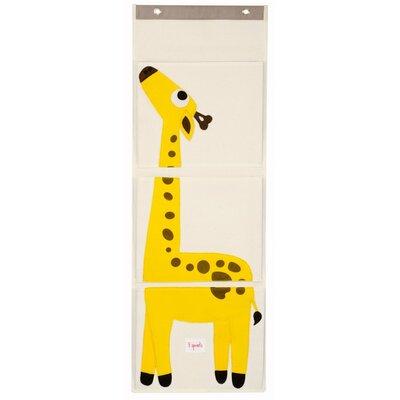 3 Sprouts Giraffe Wall Toy Organizer