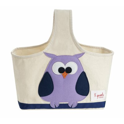 3 Sprouts Owl Storage Caddy 794504676716