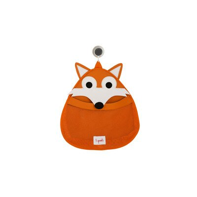 3 Sprouts Bath Toy Storage Fox