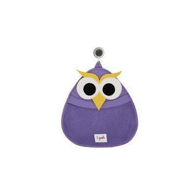3 Sprouts Bath Toy Storage Owl