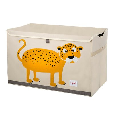 3 Sprouts Leopard Toy Chest UTCLEO