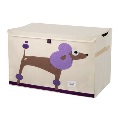 3 Sprouts Poodle Toy Chest UTCPDL