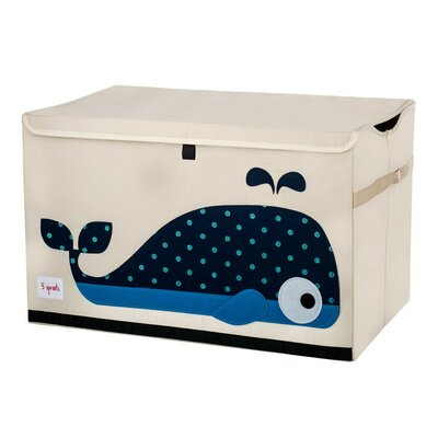 3 Sprouts Whale Toy Chest UTCWHL