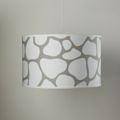 Cobblestone 3-Light Cylinder Pendant