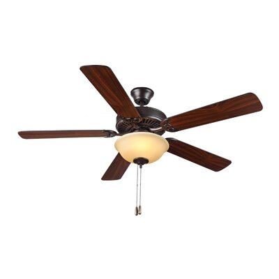 52 HomeBuilder II 5 Blade Ceiling Fan