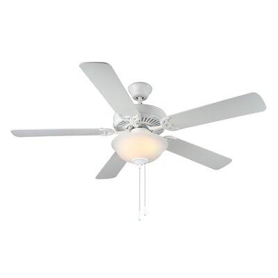 "Monte Carlo Fan Company 52"" HomeBuilder II Ceiling Fan - Finish: White at Sears.com"
