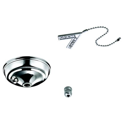 Pull Chain Bowl Cap Kit Finish: Polished Nickel