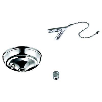 Pull Chain Bowl Cap Kit Finish: Polished Nickel