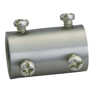 Ceiling Fan Down Rod Coupler Finish: Brushed Steel