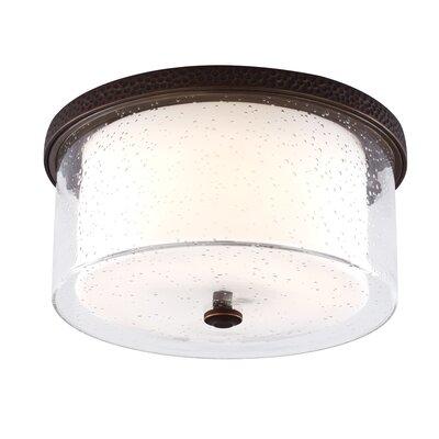Fleur De Lis Living 1-Light Bowl Ceiling Fan Light Kit