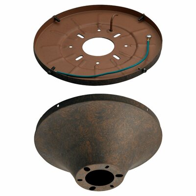 Heavy Duty Flush Mount Canopy Finish: Oil Rubbed Bronze