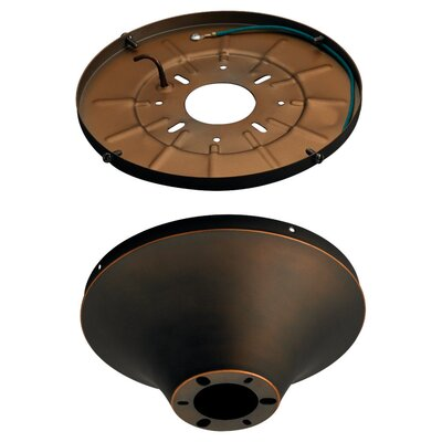 8 Semi Flush Mount Finish: Roman Bronze