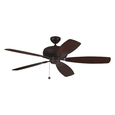 60 Hammersdale 5 Blade Ceiling Fan with Remote Finish: Roman Bronze