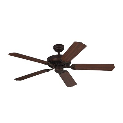 52 Holtby 5 Blade Ceiling Fan with Remote Finish: Roman Bronze