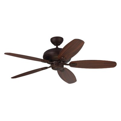 52 Hale 5 Blade Ceiling Fan with Remote Finish: Roman Bronze
