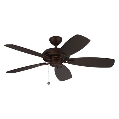 52 Tenbury 5 Blade Ceiling Fan with Remote Finish: Roman Bronze