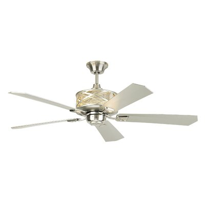 54 Forsythe 5 Blade LED Ceiling Fan with Remote