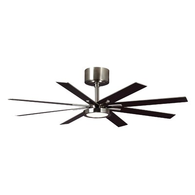 60 Woodlynne 8 Blade LED Ceiling Fan with Remote