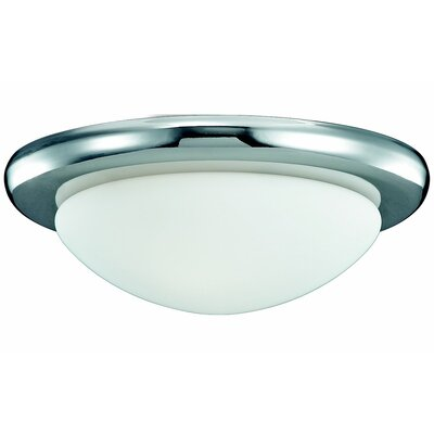 3.75 1-Light Flush Mount Finish: Polished Nickel