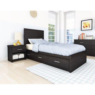 Image of Willow Storage Bed in Ravenwood Black Size: Queen (XSN1143_7361251)