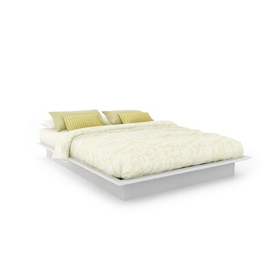 Rent to own Plateau Platform Bed Finish: Frost ...